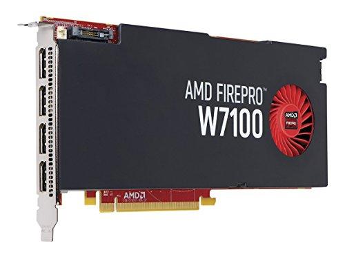 FUJITSU AMD FirePro W7100 8 GB Conexión: 4 x DP PCIe x16 sin Adaptador.