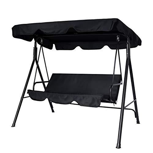 Circrane Outdoor Patio Swing Chair, Convertible...