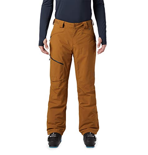 Mountain Hardwear Cloud Bank Gore-Tex Pant - Men's Golden Brown Large Regular