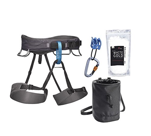 Black Diamond Momentum Harness Package, Graphite, Large