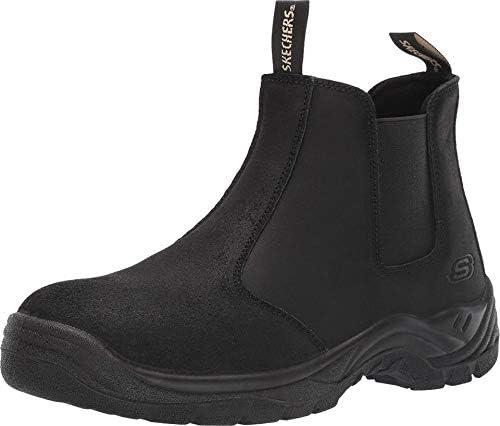 Skechers Men s Chelsea Boot Construction Shoe Black 9 5 product image