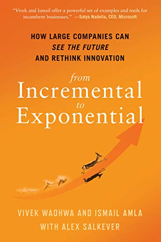 From Incremental to Exponential: How Large Companies Can See the Future and Rethink Innovation (English Edition)