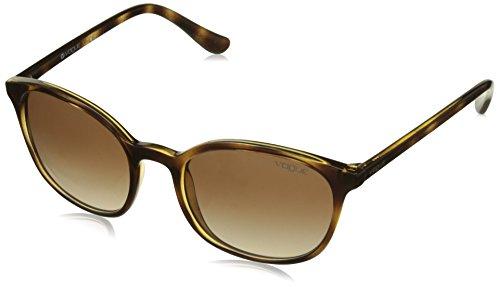 Vogue Eyewear 0VO5051S W65613 52 Occhiali da Sole, Marrone (Dark Havana/Browngradient), Donna