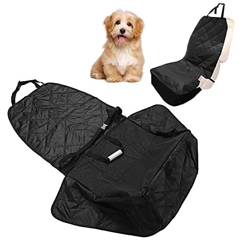 Eosnow Protector para Mascotas, Funda de Asiento de Coche de Tela Oxford, Fundas de Asiento de Coche para Perros, diseño Plegable para Mascotas