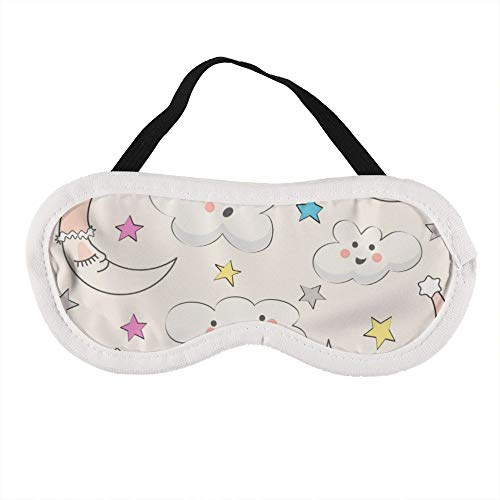 Draagbaar Oogmasker voor Mannen en Vrouwen, Goede Nacht, Honing (Kleur) De Beste Slaap masker voor Reizen, dutje, geven U De Beste Slaap Omgeving