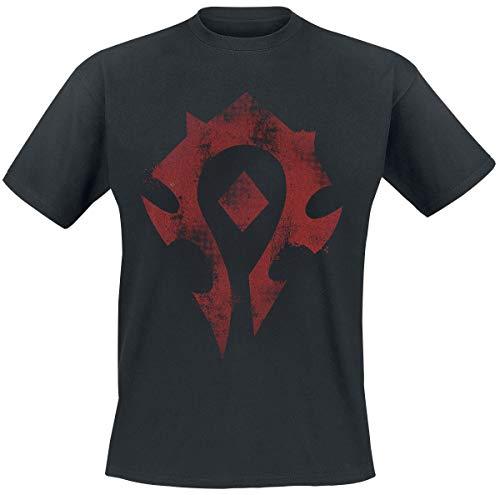 World of Warcraft Horde Männer T-Shirt schwarz XL