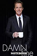 Notebook: Dale Cooper Twin Peaks Damn Fine Coffee , Journal for Writing, College Ruled Size 6
