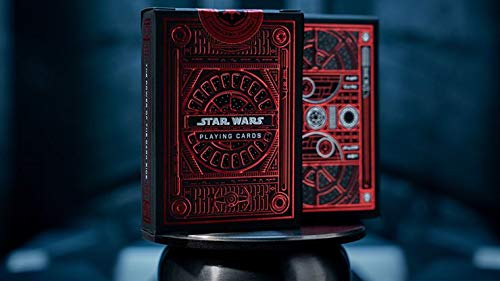 Murphy's Magic Supplies, Inc. Baraja de Cartas Star Wars Dark Side (Red) Playing Cards by theory11