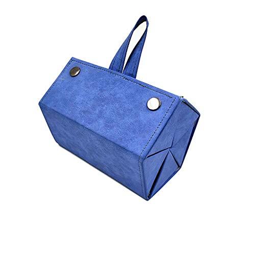 5-Slot Retro Bril Opbergdoos Leer Multi-Cel Draagbare Reizen Opvouwbare Zonnebril Organisator Collector Display Box Voor Vrouwen Mannen Opknoping Brillen Houder Display