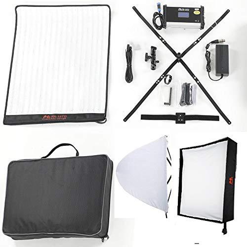 Falcon Eyes RX-18TD Roll-flex light Bi-Color Flexible LED Photo Light with Softbox Diffuser Portable LED Photo Light(NEW Version)