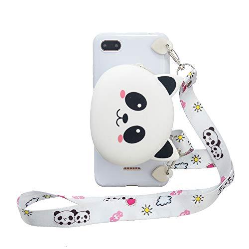 HiCASE Pro Funda para Xiaomi Redmi 6A, Carcasa Animales de Dibujos Animados en 3D Protectora Case Flexible TPU Suave Anti-Choque Bolsa Móvil