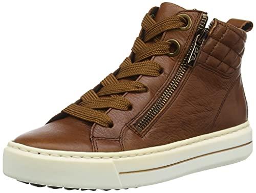 ARA Damen Courtyard Sneaker, Cognac, 40 EU