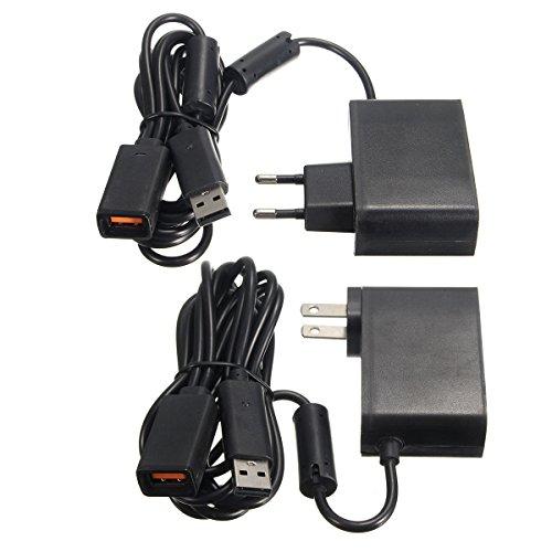 ILS - 2,3m USB-voedingskabel voor Xbox 360 Kinect Sensor EU Amerikaanse stekker