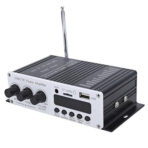 Socobeta Reproductor Digital estéreo Hi-Fi Mini Amplificador de Audio Duradero para computadora de Disco Teléfono móvil MP3