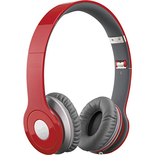 Heypex ID08Y Foldable Body Wired Solo HD Headset Deep Sound with Mic for Phone Calls & Other Features with Long Wire