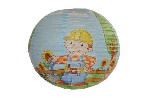 alles-meine.de GmbH Papier Laterne / Lampenschirm Bob der Baumeister für Kinder Papierlaterne Laternen Lampion Lampions