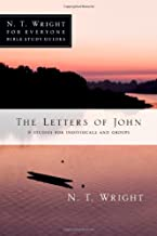The Letters of John (N.T. Wright for Everyone Bible Study Guides)