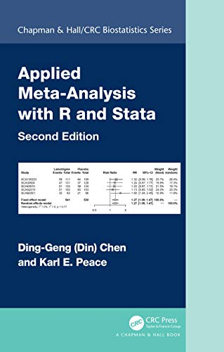 Applied Meta-Analysis with R and Stata, 2nd Edition Front Cover