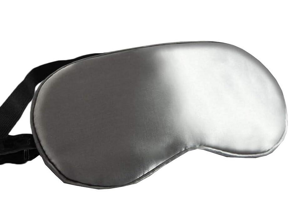 有名人インストラクター防水シルクスリープアイマスク旅行とシフトワークとナップのための - 08