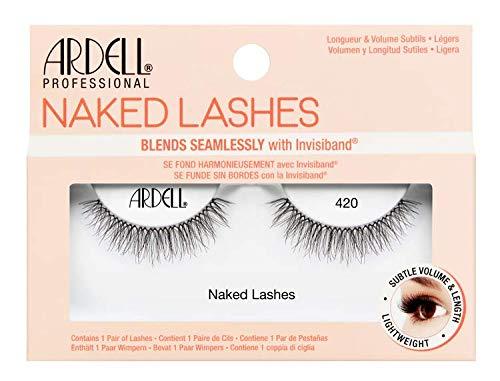 Ardell Naked Lashes Echthaarwimpern, das Original für einen unverkennbaren Look (Style 420)