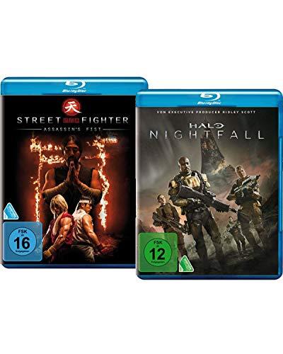 Bundle: Halo Nightfall / Street Fighter: Assassin's Fist LTD. [Blu-ray]