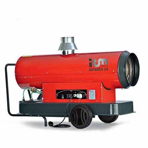 Ölheizgerät Antares 25 KW Diesel oder Öl Heizkanone, Heizgerät, mobil, Ölheizgebläse, Heizgebläse, Bauheizer, indirekt befeuert