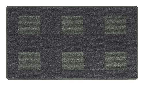 andiamo Teppich Flachgewebe Dalia strapazierfähig schadstoffgeprüft 67 x 120 cm grün