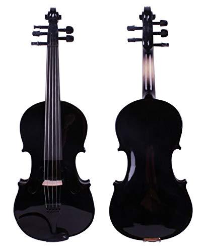 YUXIwang Violín 4/4 Nuevo 5 Cuerdas eléctricas eléctricas violín de Madera Maciza...