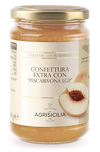 Agrisicilia Confettura Extra con 'Pescabivona I.G.P.' - 360 gr