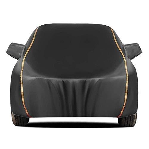 G&F Autoabdeckung Kompatibel mit Peugeot 1007 106 107 wasserdichte Autoplanen Staubdicht Kratzfest Car Cover Allwetterschutz Ganzgarage (Color : Black, Size : 1007)