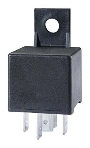 HELLA 4RD 933 332-061 Relais, Arbeitsstrom - 24V - 5-polig - mit Halter