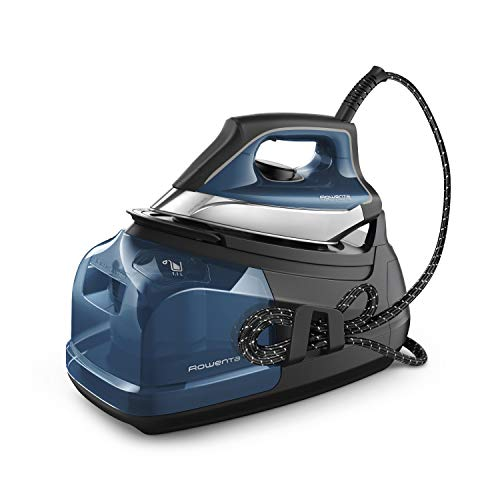 Rowenta DG8624U1 Perfect Pro Station 1800 Watts Fast Heat Up, and 430g / min steam Burst, Advanced Technology, Blue