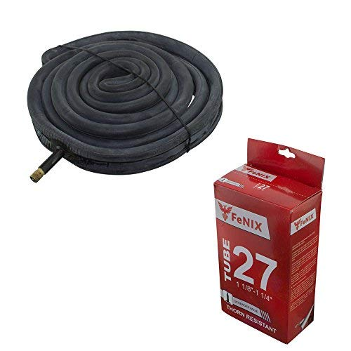 Fenix 27' x 1 1/8' 1 1/4' Thorn Resistant 33mm Schrader Valve Bicycle Tube