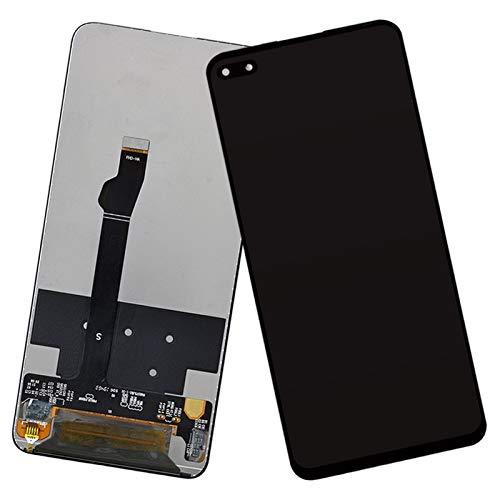 MOLIBAIHUO Compatible con Huawei Nova 6 LCD Pantalla táctil digitalizador Piezas de Repuesto compatibles con la Pantalla Nova 6 WLZ-AL10 WLZ-TL10 LCDs (Color : Black Original)