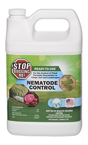 EcoClear Products 774521, Stop Bugging Me! All-Natural Non-Toxic Lawn & Garden Nematode Pest Control, Ready To Use with Trigger Sprayer, 1-Gallon