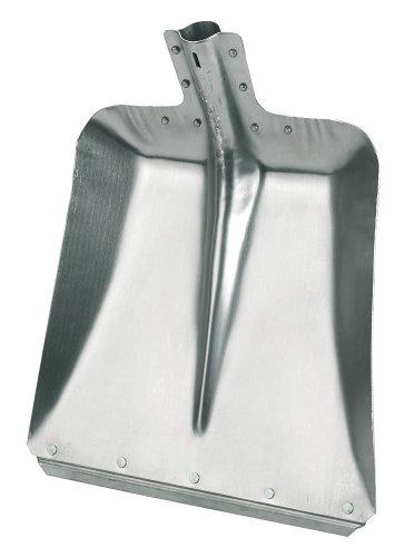 Hallenser RANDSCHAUFEL aus Aluminium (ca. 38 x 38 cm) ohne Stiel