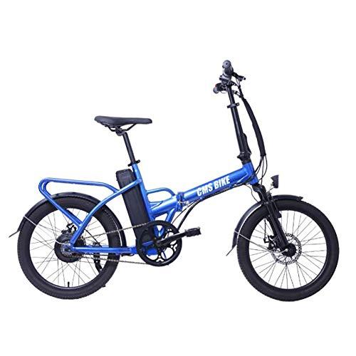 WXX 250W Faltbarer elektrischer Bicycle20 Zoll 36V mit 10Ah Removablelithium Batterydouble Disc Brakewomen Smallaluminum Legierung Batterie-Auto