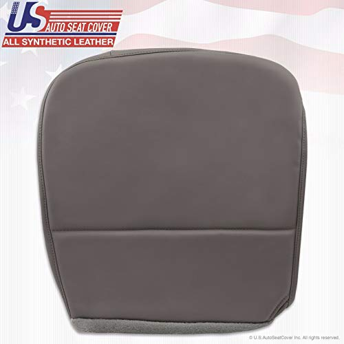 2010 Fits Ford F250 F350 F450 F550 XL Driver Replacement Bottom Vinyl Seat Cover Gray