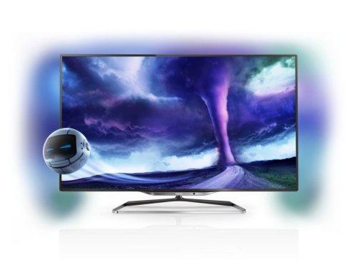 Philips 55PFL8008S/12 140 cm (55 Zoll) Fernseher (Full HD, Triple Tuner, 3D, Smart TV)