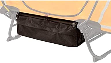 Kamp-Rite Camping Gear Accessory Valuables Storage Bag for Any Size Cot (2 Pack)