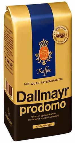 6x Dallmayr - Prodomo, Ganze Bohne - 500g