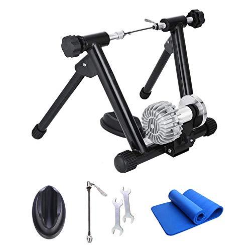 CLOUDH Rodillo Bicicleta, Resistencia LíQuida de Bicicletas Trainer, Cubierta Plegable de Bicicleta de Ejercicios Trainer MáQuina, Conveniente para 26-29' O Rueda 700c