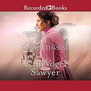 A Silken Thread audiobook cover art