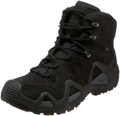 LOWA Boots Herren Wanderstiefel, schwarz, 41 EU