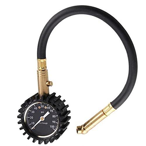 EElabper Neumáticos Manómetro Digital para Inflar Neumáticos Fácil De Calibre Pesado Chuck De Aire De Servicio Y Accesorios Compresor para La Bici RV Camión Automóvil