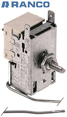 RANCO K55P5851 - Termostato para Electrolux 730431, 691528, 730434, 730957, 730965 (diámetro de 2 mm, longitud del tubo capilar 2.500 mm)