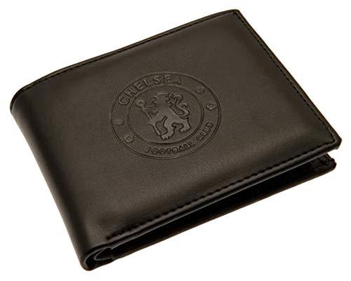 Football Chelsea Fußballverein offizielle Leder Geldbörse RFID Schutz Team Wappen Abzeichen