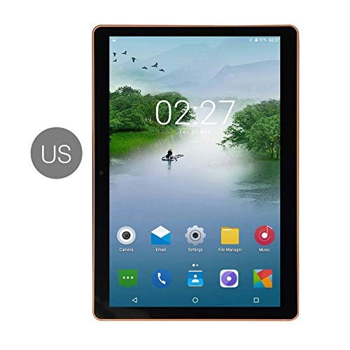 Bubbry 10,1 inch Android 8.0 Tablet PC 6 GB + 64 GB Dual SIM Ten-Core 3G telefoonoproepen