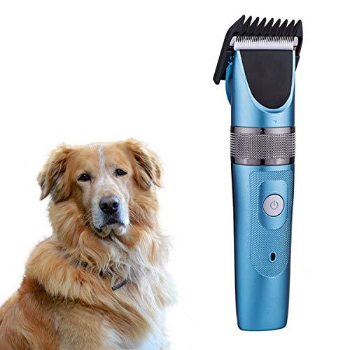 Tianhaik Tondeuse Voor Huisdieren Met 4 Limietkammen Ultrastille Draadloze Trimmer Voor Hondenkat Met Titanium Keramische Mestrimmer Voor Hoofden Baarden en Lichaamsverzorging