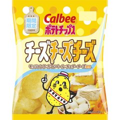 カルビー ポテトチップス チーズチーズチーズ 1箱(12袋)